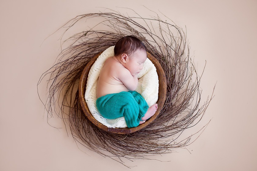 Selected photo shoots from newborn photography by Ana Koska
