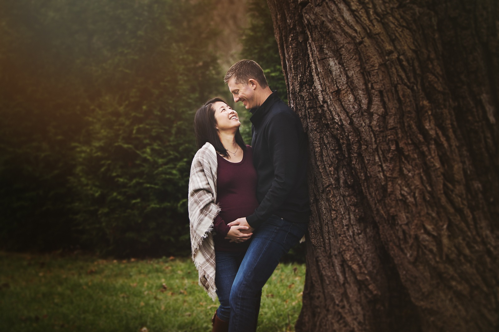 Outdoor Maternity Session - Hampton National Historic Site