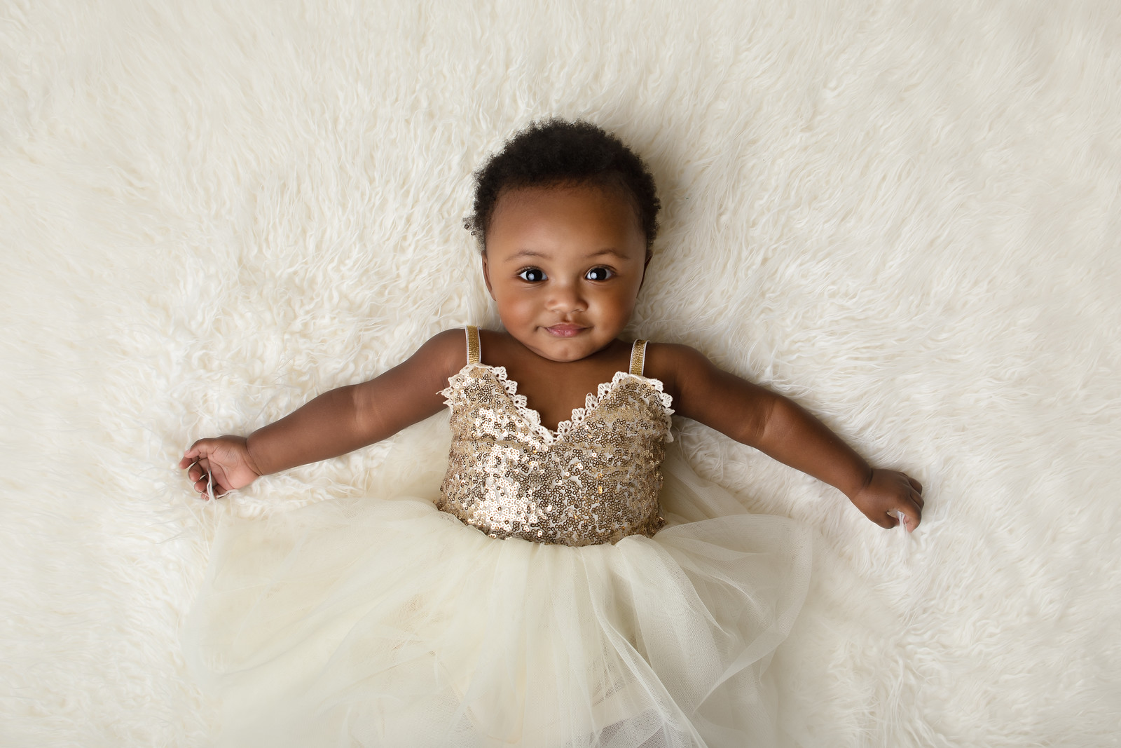 Baby Jordyn in studio session