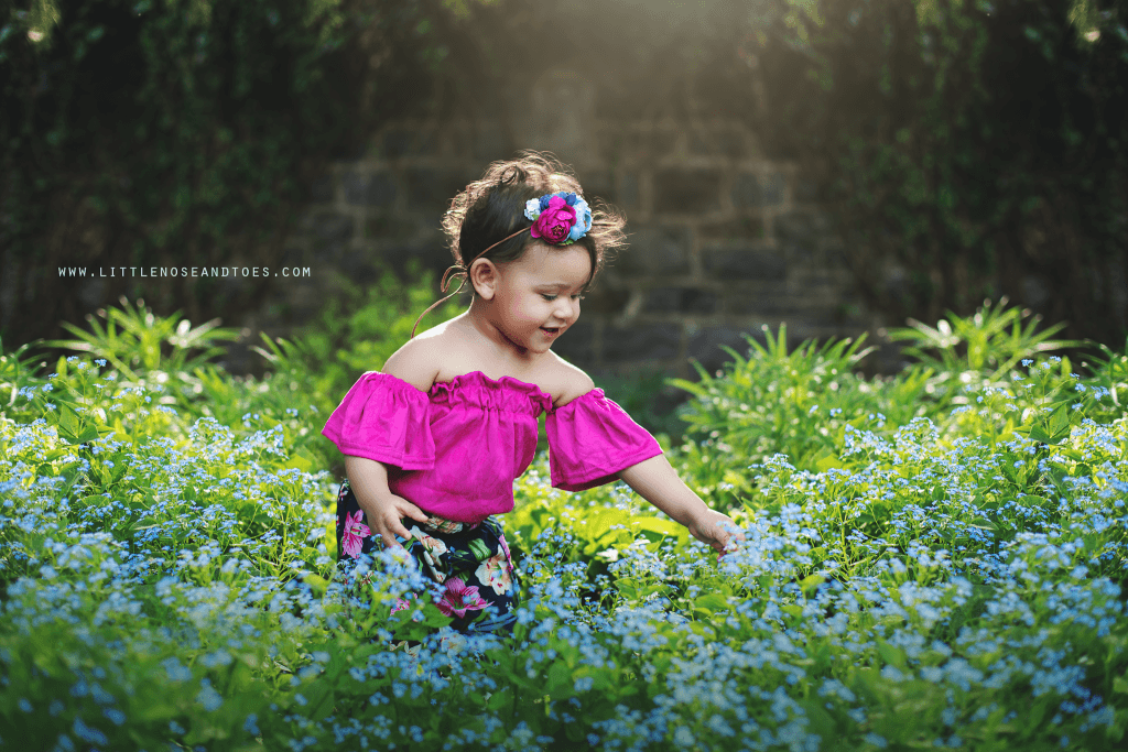 Spring Mini Session in Baltimore with Mila