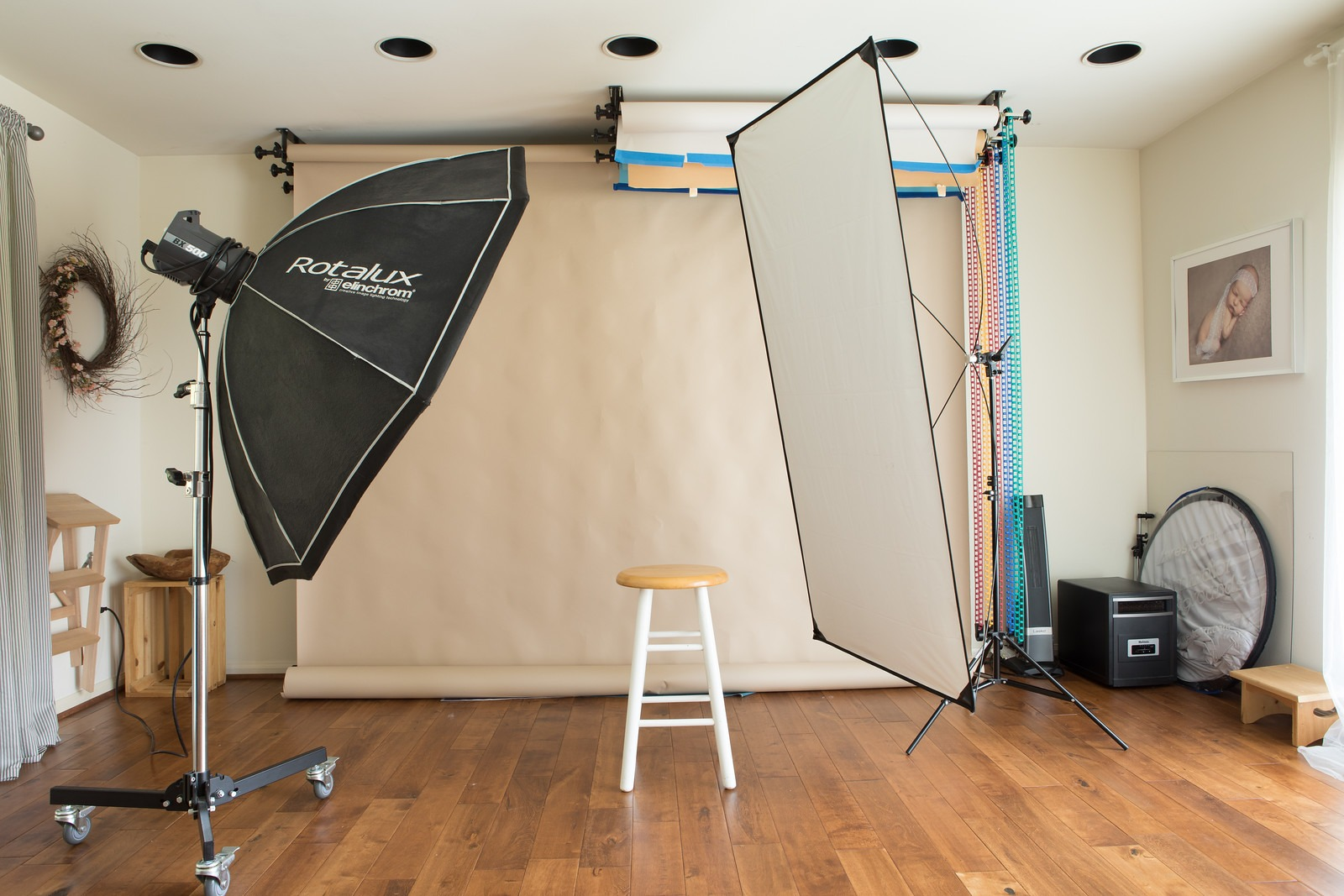 Portrait Photography Studio Set