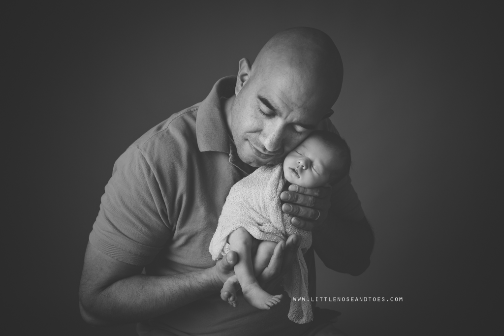 Dad and Daughter Portrait