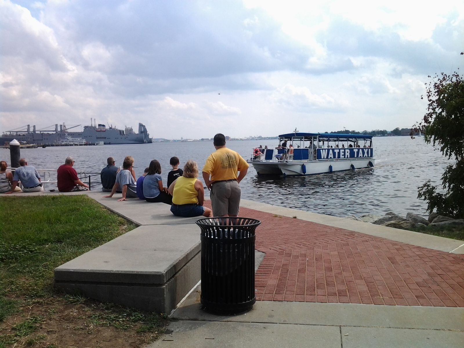 Canton Waterfront Park water taxi