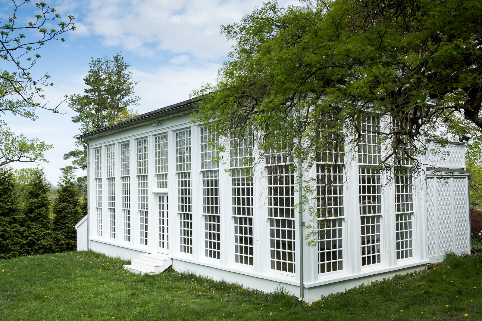 Orangery Green House in Hampton National Historic Site