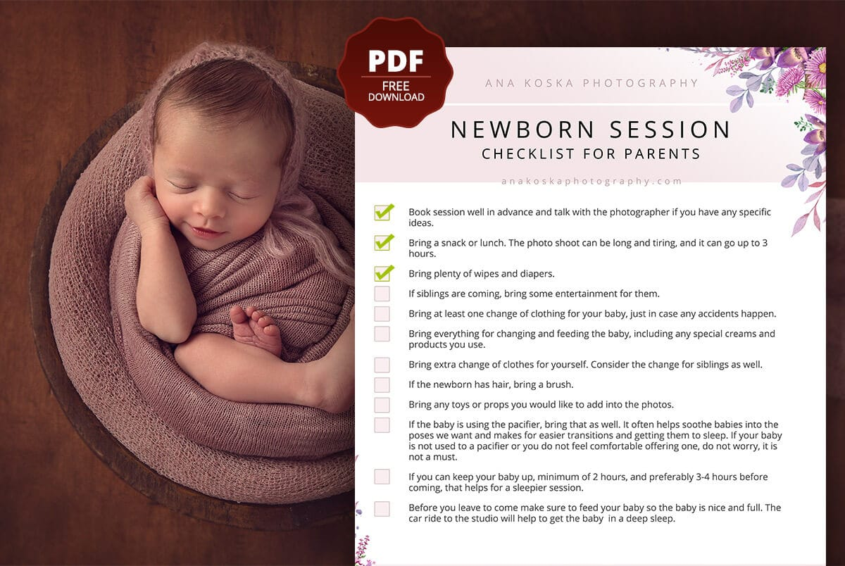 Complete Newborn Session Prep Guide for Parents