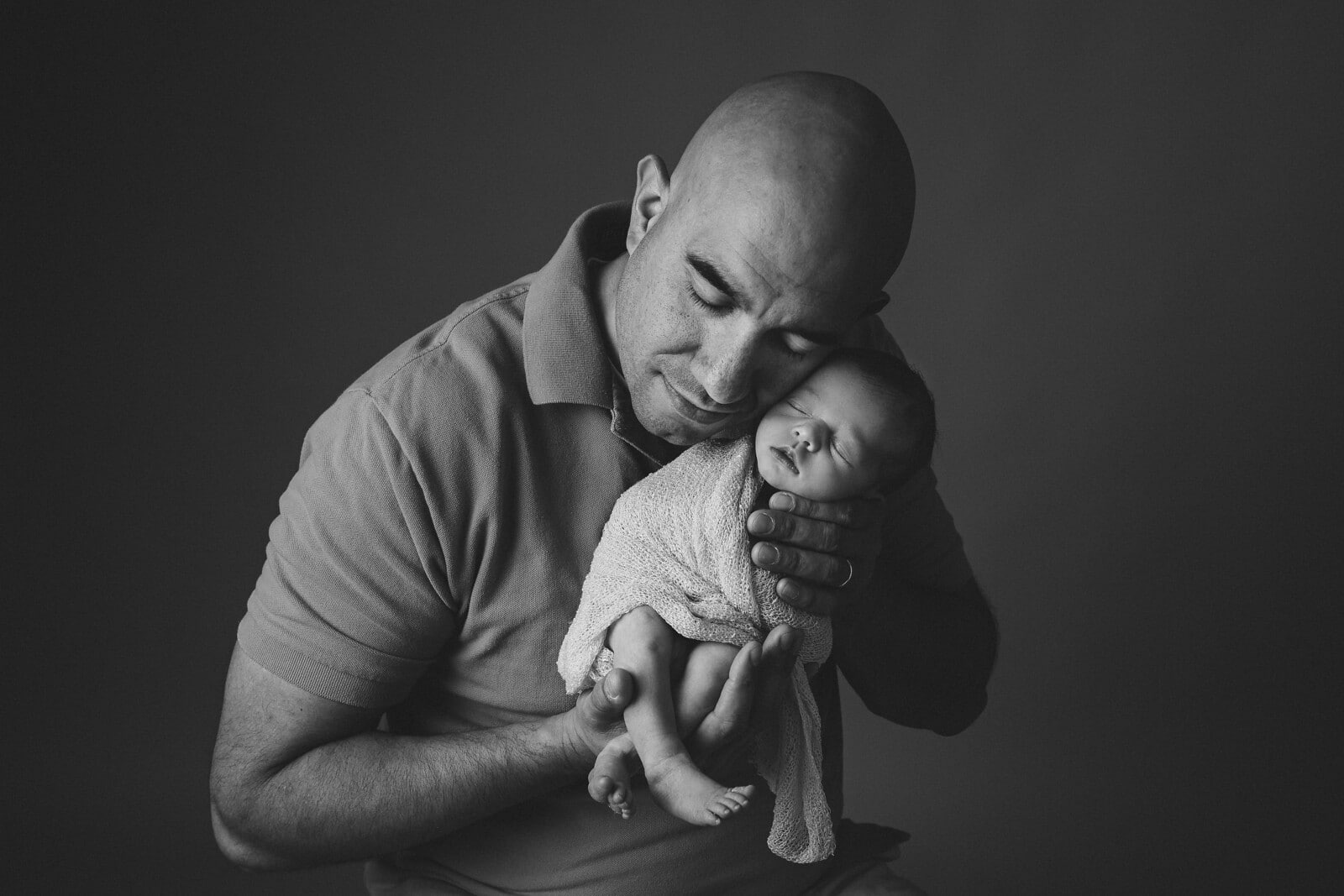 Loving father and a blessed child