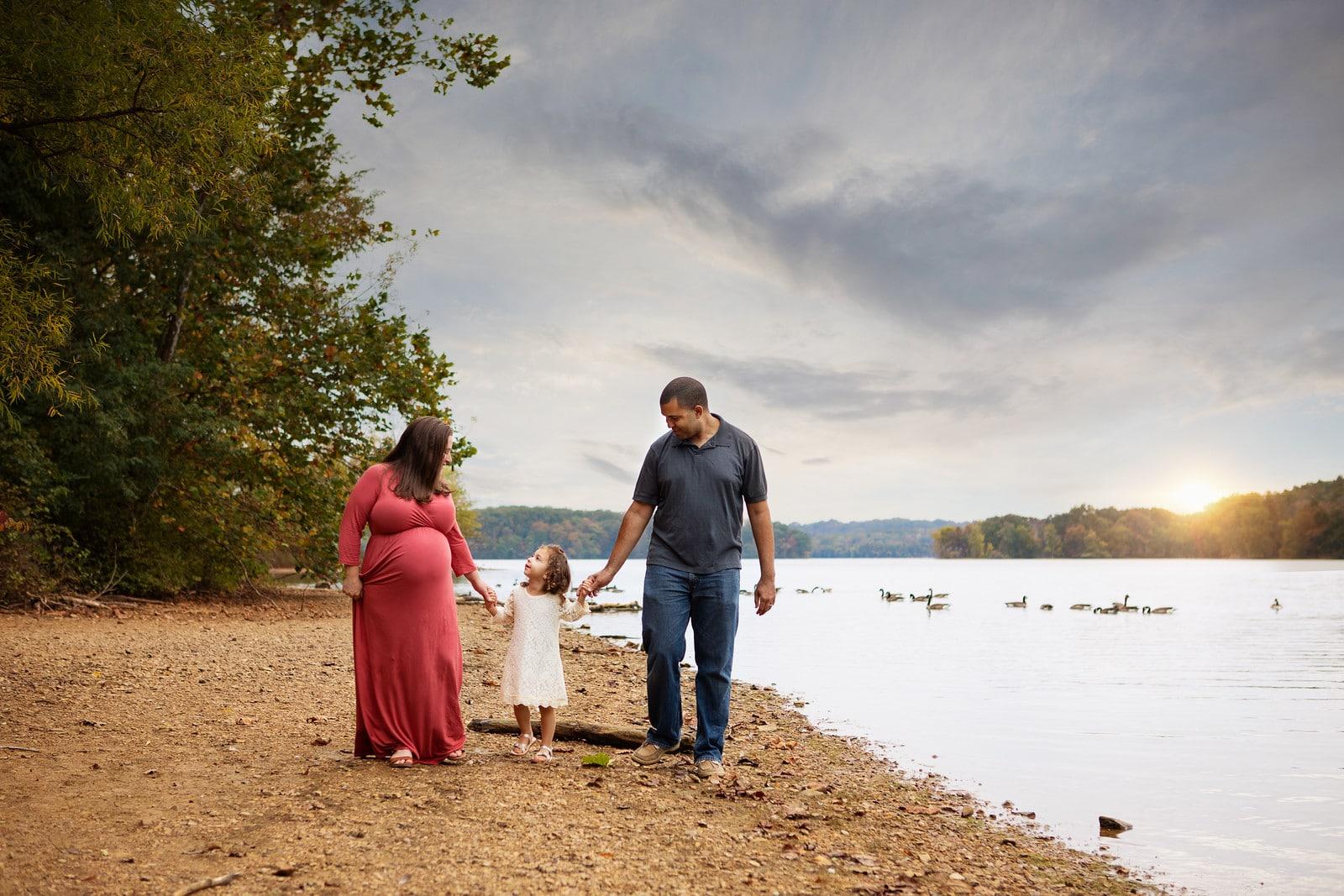 Joy of growing family