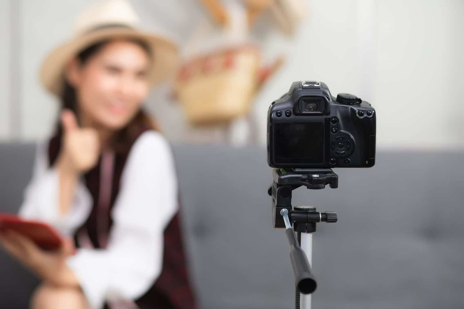 Tripod is the only tech prop you need for a DIY photoshoot