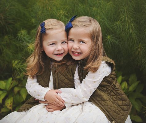 Children portrait photography in nature